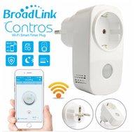 Wholesale Broadlink SP3 EU US Contros Smart Wireless WiFi Remote Control Socket A Power Supply Plug Remote Control WiFi Wireless Smart Power Socket