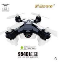 Wholesale FPV real time image transmission Mini four axis aircraft Stand alone version mobile WIFI to controlling the camera image