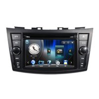 Wholesale Car DVD Player GPS Navigation Central Multimedia for Suzuki Swift Ipod map RDS Raido