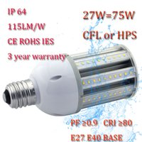 Wholesale CE ROHS IES IP64 high bright gt ra w corn lamp E40 for your garden