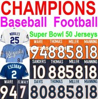 american youth football - Champions American Football Baseball KC Royals Peyton Manning Jersey Men Women Youth Broncos Jersey Super Bowl Jerseys Cheap