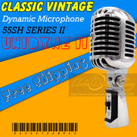 Wholesale Professional Version Deluxe SH Series II Dynamic Classic Style Vintage Wired Microphone Old Style Retro Vocal Karaoke Mic Mike