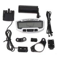 Wholesale 28 Functions Waterproof Digital LCD Bike Bicycle Computer Odometer Speedometer Velometer Backlight H8247 Not Include Battery