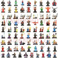 Wholesale 2000pcs Minifigures For Individually Single Sale Marvel Super Heroes star war avengers Batman Building Blocks Model Bricks Toys
