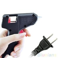 Wholesale New Black Electric Tool Hot Melt Glue Gun Watts L