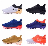 ag solid - Kids Original MERCURY X PureChaos FIRM GROUND FG AG Mens Soccer Boots Cheap Soccer Cleats Football Soccer Shoes High Top Football Boots