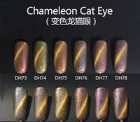 Wholesale Monasi Soak Off Nail Gel Polish High Quality Led D Cat Eye Gel Need Magnet For Nail Art Gel Lacquer