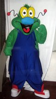 alien outfit - 2016 NO MASCOT New Style Alien EXTRATERRESTRIAL Mascot Costume Cartoon Character Mascotte Outfit Suit Fancy Dress EMS