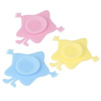 Wholesale New Infants And Children s Tableware Sucker Stick Baby Bowl Silicone Bowl Sided Magic Sucker Suction Cup Non slip Mat tinyaa
