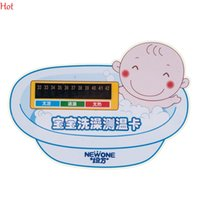 bath stickers for babies - Baby Bath Thermomters New Fashion Toddler Safety Float Digital Thermometer Bath Tub Water Temperature Meter Sticker For Kids