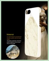best pc laptops - Best Selling phone cases with retail package Natural Marble Material laptop true PC personalized phone covers for Iphone plus