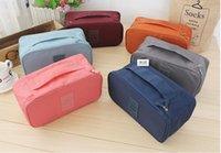 Wholesale Portable Travel Organizer Drawer Closet Dividers Bra Underwear Storage Bag Bag Lingerie Case Multi function Organizer Bag