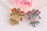 anniversary articles - Is South Korean Style Is Small Adorn Article Sweet Brooch Colorfull Christmas Bell Retro Women
