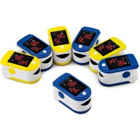 Wholesale New Finger Pulse Oximeter Portable Fingertip Pulsioximetro a Finger PR PI Oximetro de dedo Digital