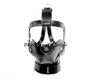 adult christmas - BDSM Restraints Bondage Gear Head Harness Mouth Mask Ball Gag Adult Sex Products for Women