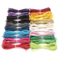 Wholesale Lowest Price Meters Mixed Color Waxed Cotton Beading Cord mm for Jewelry Bracelet Making Hot Sale