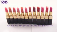 Wholesale Brand new Cosmetics makeup Rouge lipstick lip stick color g