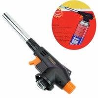 Wholesale Outdoor Welding BBQ Tool Flamethrower Burner Butane Gas Blow Torch Auto Ignition