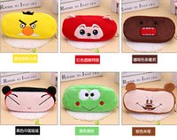 Wholesale Cute Cartoon Soft Plush Pencil Pen bag Case Novelty Makeup Cosmetic Pouch Bag Zipper