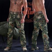 Wholesale Men Snake Camouflage Tactical Pants Mens Mandrake Typhon Grain Printing Trouser Army Hunting Pants