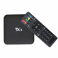android dlna controller - 20pcs TX3 Android TV Box G Smart Box Amlogic S905 KODI DLNA Fully Loaded H K Support HD Media Player Remote Controller