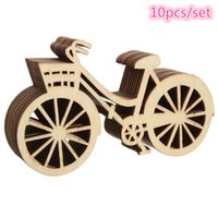 beautiful templates - 10pcs set Beautiful Design Bicycle Die Cutting Plywood Template DIY Crafts Handicraft Wood Crafts Accessories mm mm