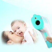 Wholesale New Muti fuction Baby Adult Digital Termomete Infrared Forehead Body Thermometer Gun Non contact Temperature Measurement Device Tools