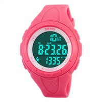 Wholesale New Casual Women s Watch Fashion Pedometer Digital Fitness For Men Women Outdoor Wristwatches Skmei Sports Watches COLORS