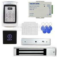 Wholesale Touch Button RFID KHz Metal Keypad Door Access Control Security System Kit Magnetic Lock For Home Office Use BC2000
