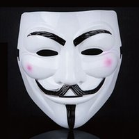 Wholesale 20pcs Sales V For Vendetta Mask Guy Fawkes Anonymous Halloween Masks Fancy Cosplay SP