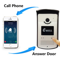 Wholesale EBELL Brand HD P Full Duplex Audio Wireless Video Doorbell Camera Support Mobile Unlock Door Playback Video Record Remote Night Vision m