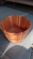 bath specifications - Supply of various specifications various models different styles of fir wood foot tub foot tub feet foot barrel barrel barrel Footbath