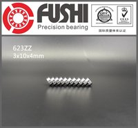 Wholesale 623ZZ ABEC x10x4MM Miniature Ball Bearings Z EMQ Z3V3 FUSHI