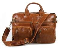 australia backpack - 7026B Vintage Tan Leather Men s Trendy Shoulder Backpack Bag Briefcase Laptop Bag Laptop Bags amp Cases