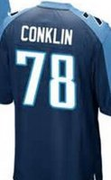 Wholesale Jack Conklin Tennessee elite JERSEY shirts size S small xl