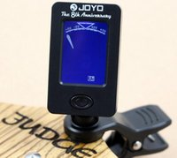 Wholesale Mini Electric Acoustic Guitar Tuner Clip Violin Ukulele Bass Tuner For Guitar LCD Degree Rotatable Set Of
