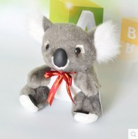 australian silk scarves - New Australian grey koalas plush toys doll Silk scarves no41
