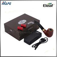Cheap Authentic iSmoka Eleaf IPIPE II Starter Kit Eletronic Cigarette Pipe Eleaf Ipipe 2 18350 Mod 1.8ml Ipipe 2 Atomizer Epipe Kits