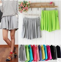 Wholesale Hot selling summer shorts female shorts big yards loose pleated pants modal leggings shorts casual pants