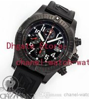band seller - outdoor Factory Seller Brand In Box AAA Quality Super Avenger Black Chronograph Quartz Mens Watch Rubber Band Mens Date Sport Wrist Watches