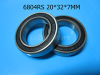 Wholesale 6804RS bearing RS mm deep groove bearing Rubber sealed bearing Thin wall bearing