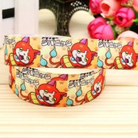 baby food items - 7 quot mm Cute Cats Cartoon Printed Grosgrain Ribbon for Baby Items Gift Party DIY Event Food Decos Yds A2