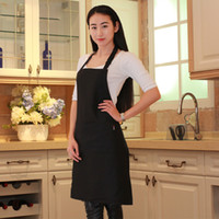 Wholesale Custom polyester cotton aprons with silkimprint or embroidery logo printing MOQ