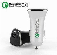 Wholesale Shenzhen electric hot selling car charger USB qualcomm quick charge car charger for smart phone