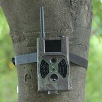 3pack 12MP FHD GSM MMS GPRS correo electrónico Digital Hunting Trail cámara con 12MP 1080P detección de movimiento 850nm visión nocturna Scout juego de la cámara