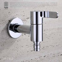 Wholesale Han Pai Brass Garden Faucet Decorative Outdoor Faucets Washing Machine Connector Tap Bibcock Laundry Utility Faucets Robinet HP7302