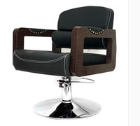 barbers chairs - Retro salon hairdressing chair Hair salons dedicated lift can be adjusted The barber chair