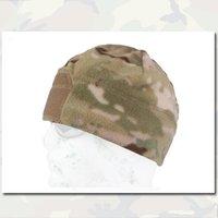 army watch cap - Fleece Velcro Watch Cap EMERSON Gear Outdoor Camping Climbing Warmer Magic Paste Wind Cap BK FG EM8542