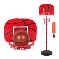 Wholesale 150cm Basketball Outdoor Indoor Sports Basketball Basket Frame Children Cast Iron Lifting Basketball Frame With Ball