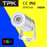 b w types - LED Spot Light type A D42 mm Aluminium alloy pc Power LED W IP65 V DC R G B W WW available lens optional